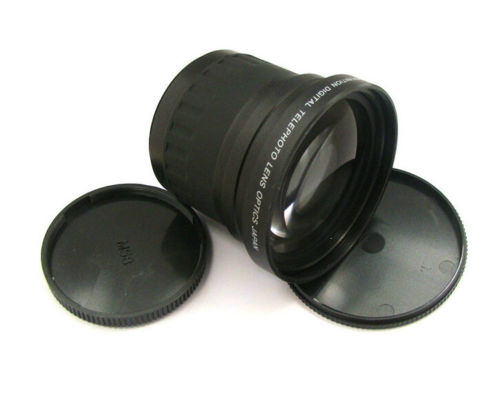 58mm 3.5x TELE Telephoto LENS Magnification for 58 mm canon 60d 70d 650d <font><b>700d</b></font> 1100d nikon DSLR/SLR Digital Camera image