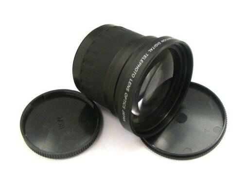 58mm 3.5x télé téléobjectif grossissement pour 58mm canon 60d 70d 650d 700d 1100d nikon DSLR/SLR appareil photo numérique