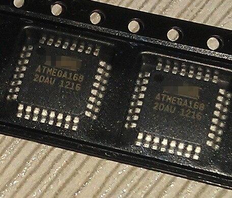 10/PCS LOT ATMEGA168-20AU ATMEGA168 QFP32 NEW