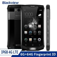 Blackview BV8000 Pro 4G LTE IP68 Водонепроницаемый противоударный смартфон Android 7,0 Octa Core 6 ГБ и 64 Гб прочный телефон 16.0MP 4180 mAh NFC