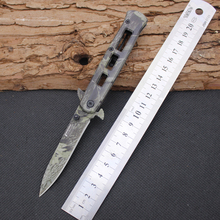 New Folding Knife TAS Survival Knifes 420 Steel Blade Steel Handle Pocket Hunting Tactical Knives Camping Outdoor EDC Tools y33