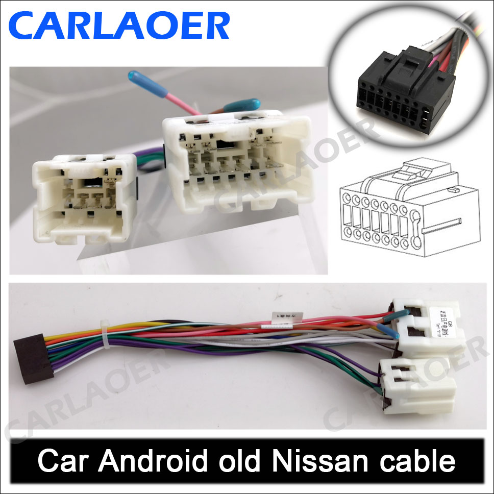 Car Android old Nissan cable