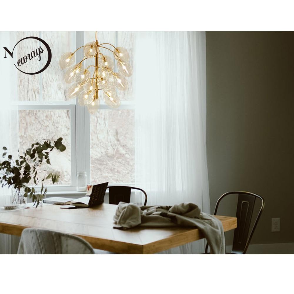 Europe simple grape pendant light LED G4 modern loft hanging lamp with 4 sizes for living room hotel restaurant bedroom cafe bar nordic loft crystal pendant light g10 led modern hanging lamp for bedroom living room hotel restaurant cafe dining room store