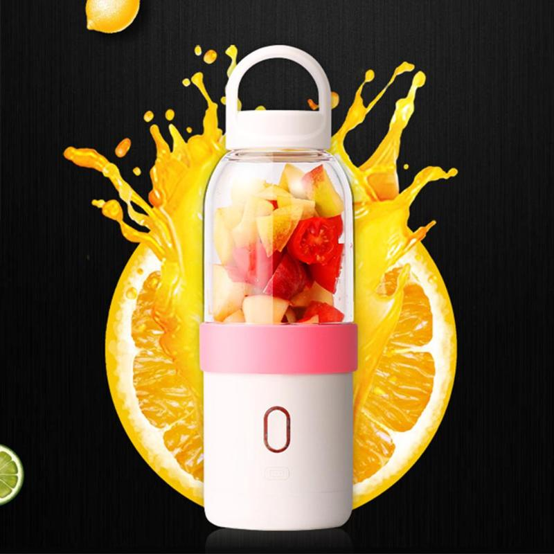 500ml Portable Electric Fruit Orange Citrus Juicer Bottle Mini USB Rechargeable Juicer Cup Lemon Blender Juice Smoothie Maker portable electric juice juicer blender kitchen home outdoor travel mixer drink bottle smoothie maker fruit
