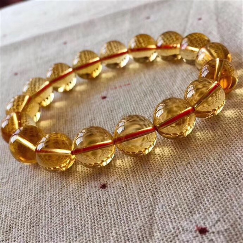 Natural Citrine Quartz Bracelet (5)