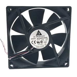 Image 2 - for delta AFB0912HH 92*92*25MM 90x90x25mm DC12V 0.40A case Cooling Fan 67.92CFM 4500RPM