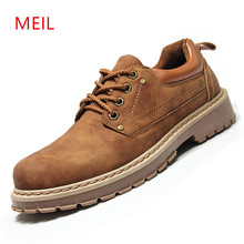 Handmade Mens Leather Shoes Casual Men Leather Footwear New Work Shoes Leather Casual platform Shoes Men Mocassin Zapatos Hombre capellas spring autumn men leather shoes fashion brand shoes mens leather casual shoes for men shoes zapatos hombre 39 44