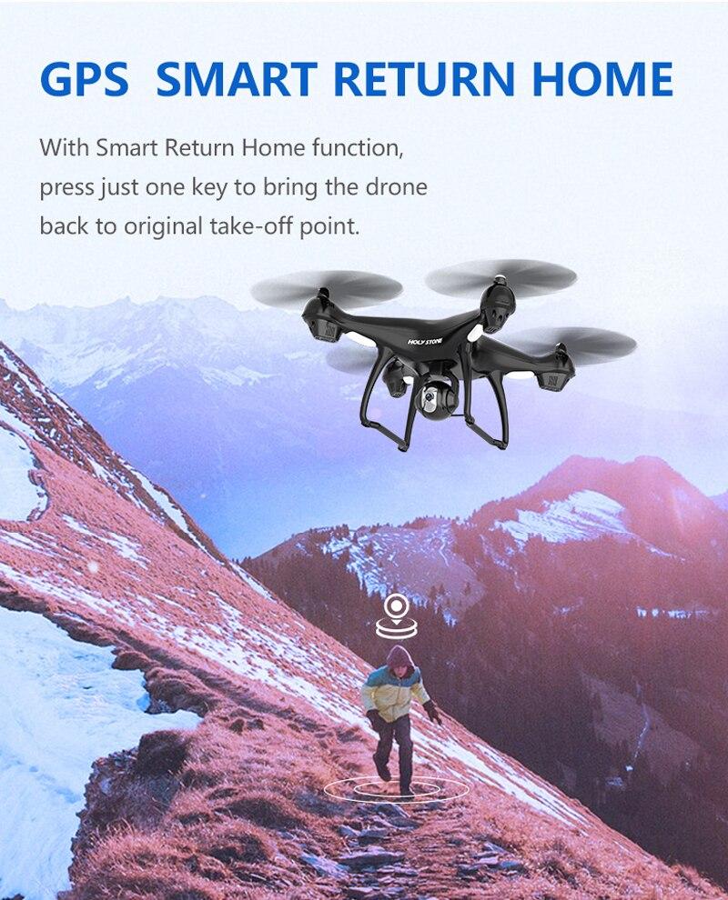 Holy Stone HS100 GPS FPV თვითმფრინავის - დისტანციური მართვის სათამაშოები - ფოტო 4