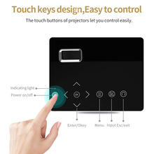 LED Mini Projector HD Portable HDMI USB AV Support Power Bank Charging For Home SD998