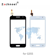 Touch Screen for Samsung Galaxy Core 2 G355h G355 Digitizer Panel Sensor Lens Glass 4.5 Inch High Quality Replacement Parts