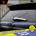 Подходит для Ford Explorer 2013-2016 ABS Хромированная накладка на заднее окно  накладка на заднее лобовое стекло  стеклоочиститель  автомобильный Стай...