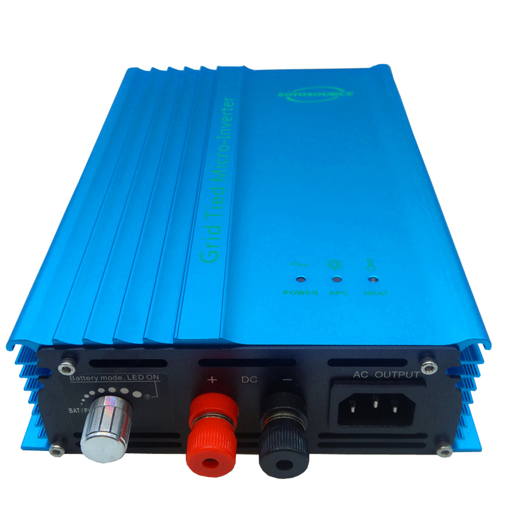 MPPT Pure Sine Wave Grid Tie Inverter 500W Suitable for Solar PV Panels &12V/24V36V/48V/72V Batter