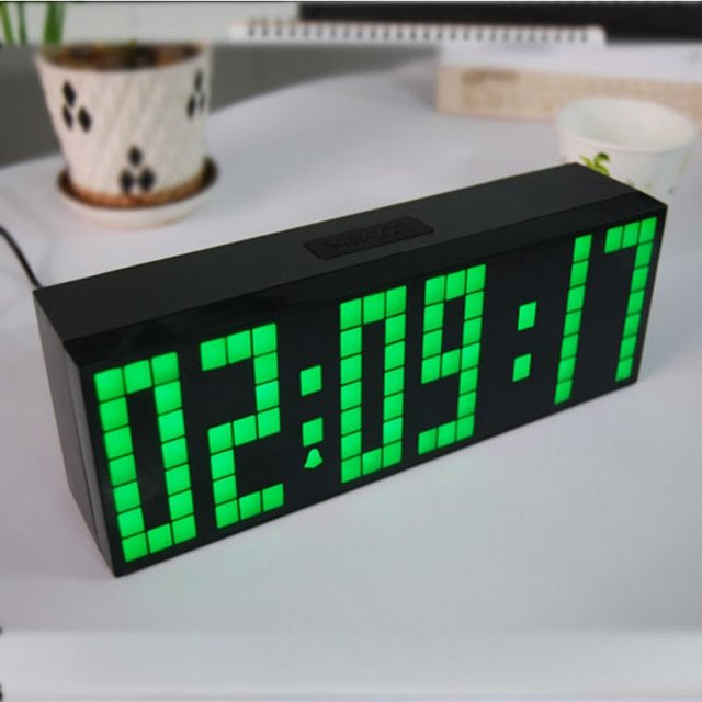 Low Price Days Dates Led Digital Timer Unique Clock Wall Light For