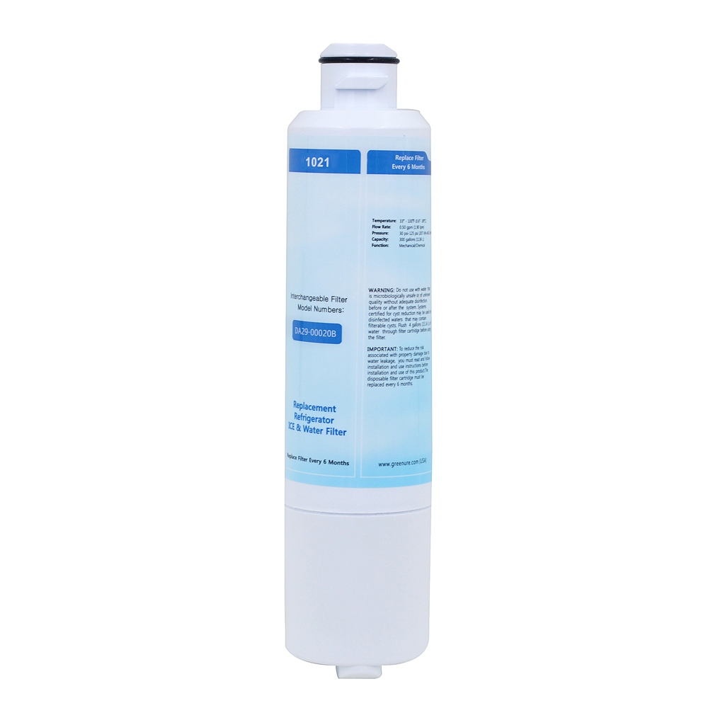 Household sale Real New Water Purifier GRE1021 Replacement Refrigerator Water Filter Carbon for Samsung DA29-00020B 2 Pcs/lot