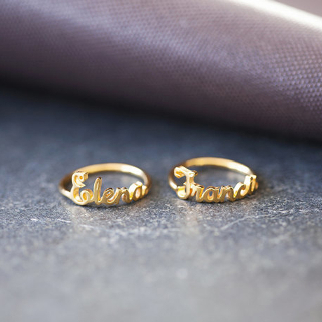 Gorgeous Tale Hot Sale Items New Arrival Personalized Name Ring