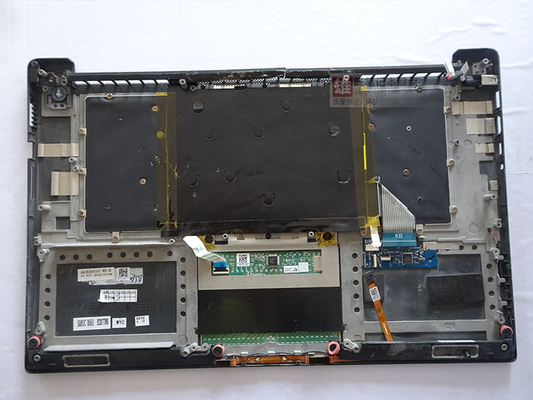 Laptop parts for <font><b>DELL</b></font> XPS15 9550 PRECISION <font><b>5510</b></font> Palmrest with Backlit US <font><b>Keyboard</b></font> touchpad micphone <font><b>keyboard</b></font> control board image