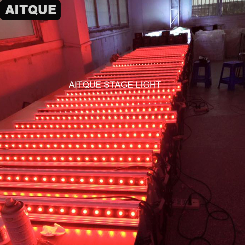 48pcs Led Bar Stage Light Wall Washer For Weddings 24x3w Wall Washer Stage 3w Rgbw Led Bar Dmx