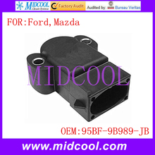 Новый датчик положения дроссельной заслонки tps использования oe no. 95bf-9b989-jb для ford courier эскорт fiesta ка orion puma mazda 121
