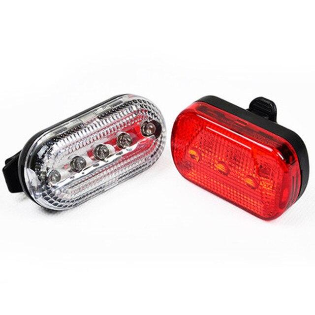 5LED  battery power Indicator light Strobe Signal warning lights led safety Alarm mountain bike Tail Lamp outdoor lighting