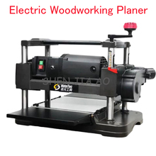 Electric Woodworking Planer Desktop Wood Planer Machine Flat Knife Wood Cutting Machine Automatic Feeding Woodworking Planer
