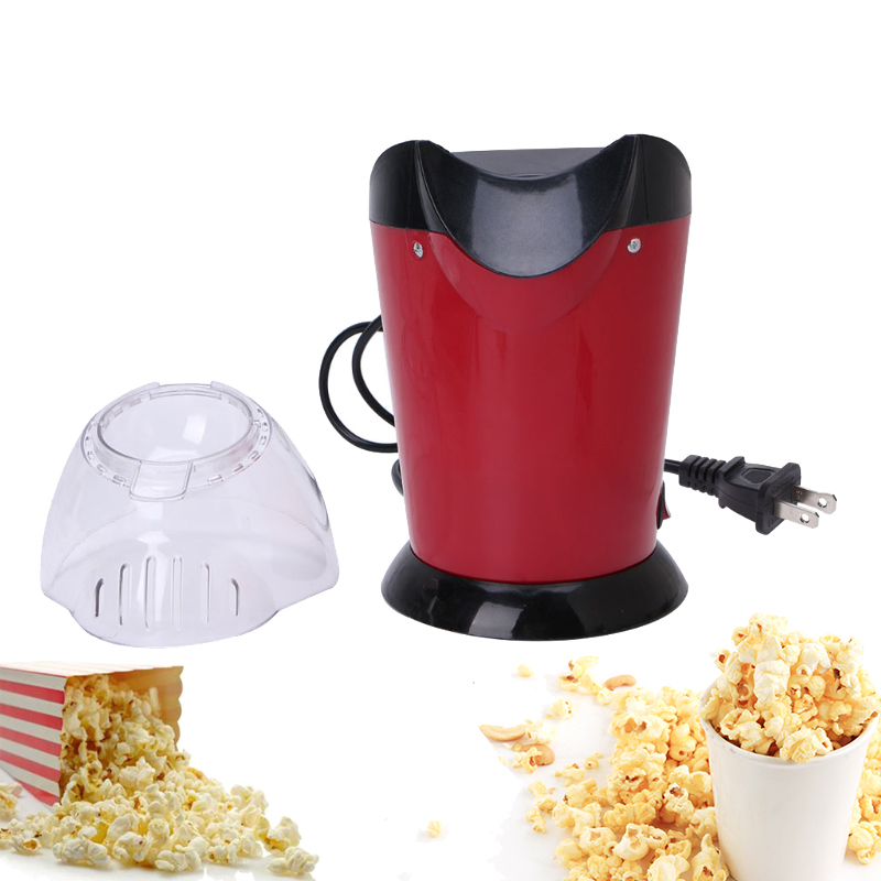1800W Hot Air Mini Popcorn Making Machine Maker Corn Poping Popper US Plug