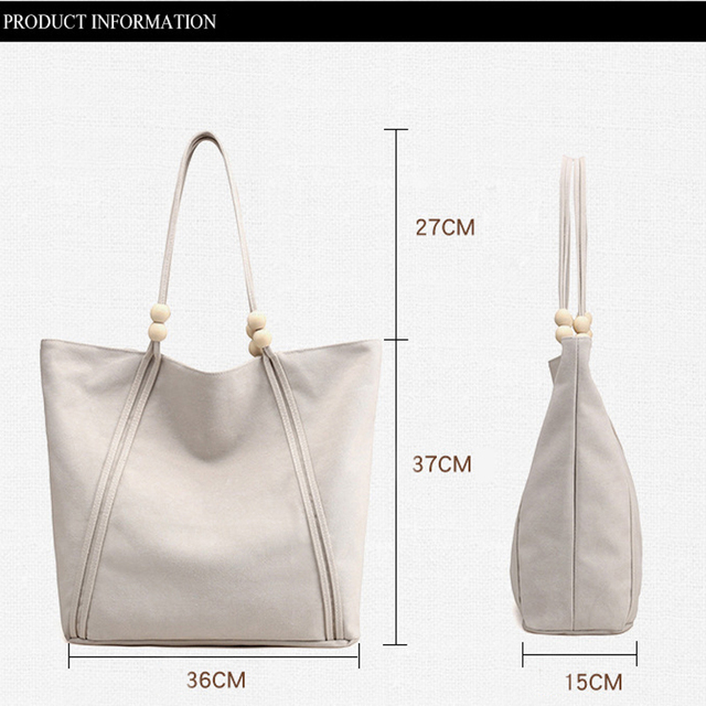 High Quality Luxury Handbags Women Tote Bags Designer Big Canvas Shoulder Bags Ladies Hand Bags Female Shopping Bag 2