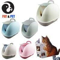 2 camadas gato caixa de lixo  fácil de limpar totalmente fechado  reduzir a sujeira dispersa até 95%  serviço para gordura e gato grande