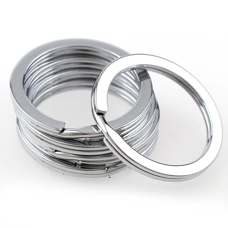 12 мм шт./лот 28 мм брелоки с кольцами нержавеющая сталь Коло хорошее качество брелок для изготовления Sleutelhanger Diy интимные аксессуары