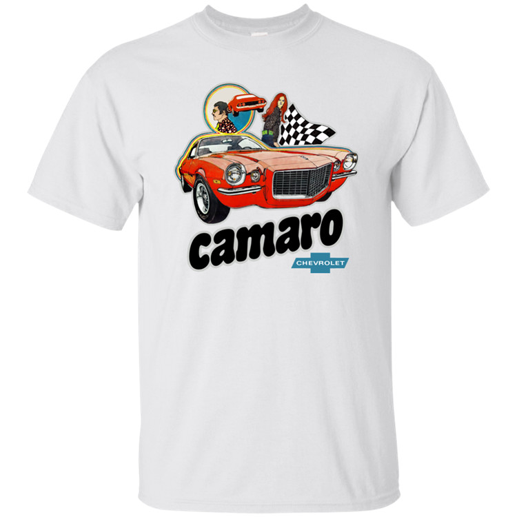 Chevy Camaro, Chevrolet, Heavy Chevy, Muscle Car, Retro, 1960's, 1970's, T-shirt