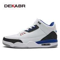 DEKABR Newest Professional Men Basketball Shoes Male Sport Shoes Anti Slip Outdoor Athletics Sneakers Plus Size