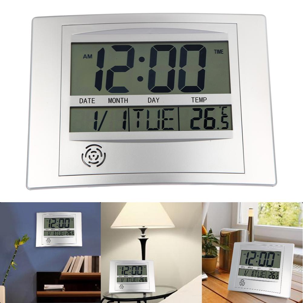 Numérique intérieureextérieure température hygromètre maison décoration de bureau horloge hygromètre thermomètre 1xaa batterie livraison