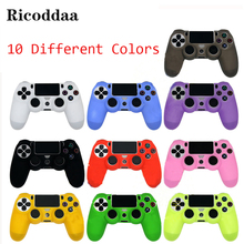 For PS4/Slim Controller Case Silicone Soft Flexible Gel Rubber Shell Case Cover For Sony Playstation 4 Game Controller Accessory