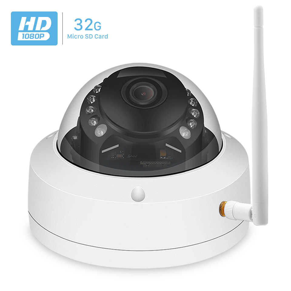 HD 720P 1080P IP WIFI Camera 32GB SD Card IR 20M Night Vision 3 6mm Lens