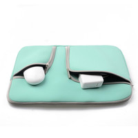 Sleeve Bag Dual Zipper Pocket Bag Carrying Neoprene Case For MacBook Air 11 12 13 Retina