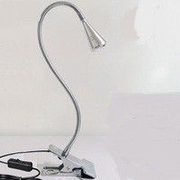 A1 Universal LED small desk lamp can bend dormitory work clip lamp eye protection desk lamp bedside lamp