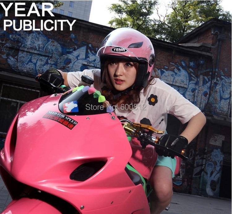 ЙЕМА Moto Racing шлем летом половина лицо motorcross Мотоциклетный Шлем off road мотоцикл шлемы, изготовленные из ABS СВОБОДНЫЙ РАЗМЕР YM-619