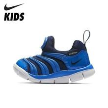 79d777bd850 NIKE Crianças DÍNAMO LIVRE Nova Chegada Da Criança Não Escorregadio Criança  Esportes das Sapatilhas Confortáveis Anti