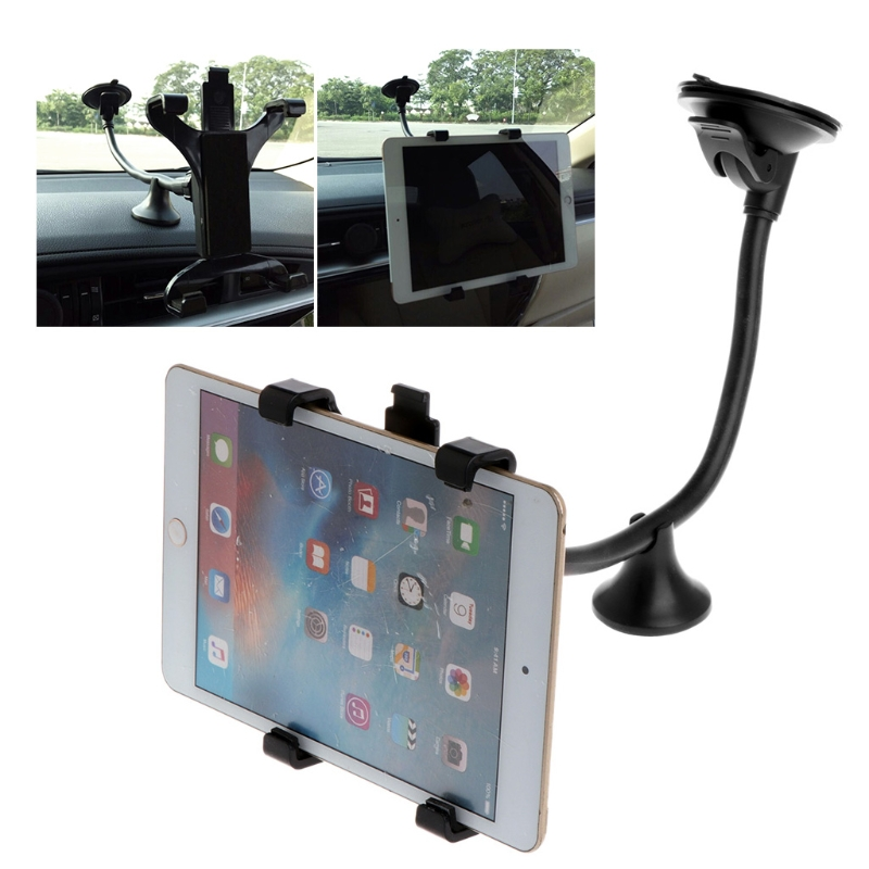 7 8 9 9.7 10 11 Inch Tablet PC Stand Long Arm Tablet Car Windshield Mount Holder Stand For Ipad 2 3 4 Ipad Air 9.7