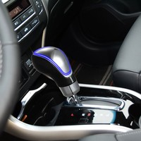 Touch Activated Car Gear Shift Knob LED Light Knob Shifter Automatic Gear Knobs 4 Colors For Options