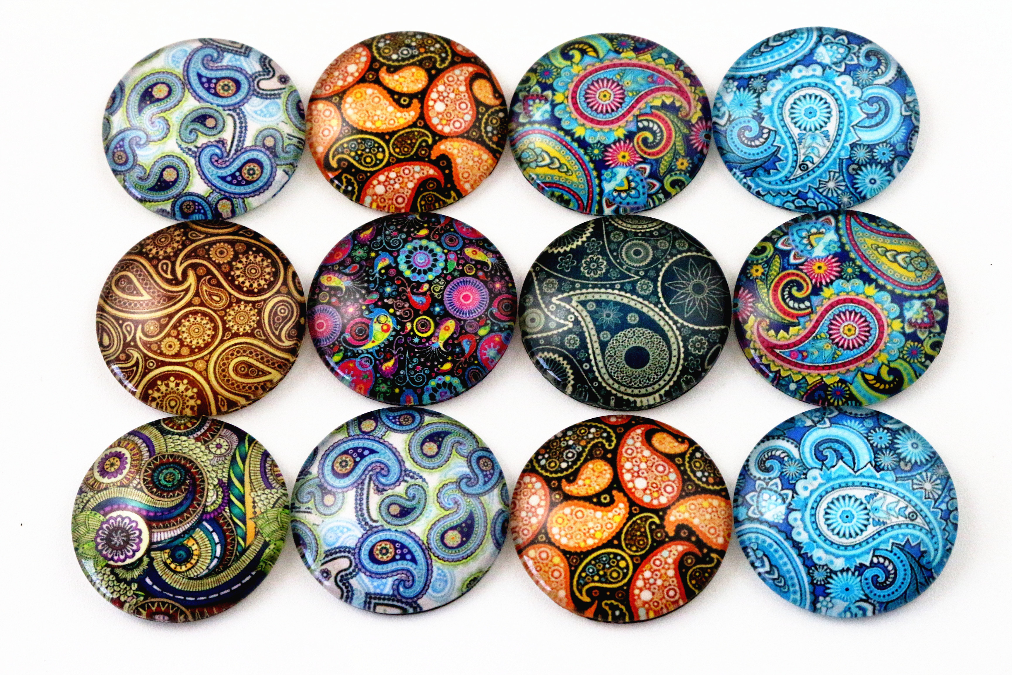 10pcs 20mm And 25mm New Fashion Texture Mixed Handmade Photo Glass Cabochons Pattern Domed Jewelry Accessories Supplies new fashion 5pcs lot 25mm handmade photo glass cabochons beautiful butterfly series