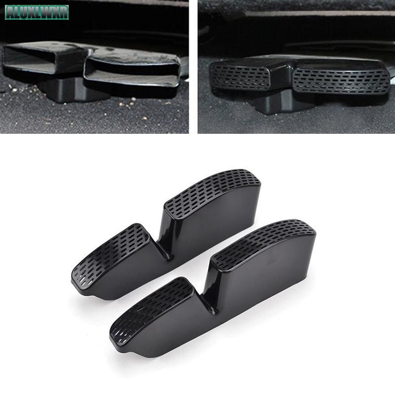 Seat AC Heat Floor Air Conditioner Duct Vent Outlet Grille Cover Trim Car Accessories For Kia Sportage 4 QL 2016 2017 2018 2019