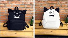 Children Backpacks Fashion Girls Backpack School Bag Travel Pack 2 Sets Mochila Infantil Cats Cute pink