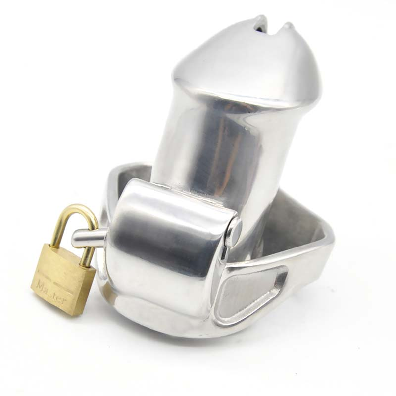 Steel Stainless Chastity Cage With Lock Male Chastity Device Catheter Sound Cock Cage Penis Ring Adult Game Sex Toys For Men black emperor sm interest stainless steel male ccb chastity lock adult toys penis ring anal plug