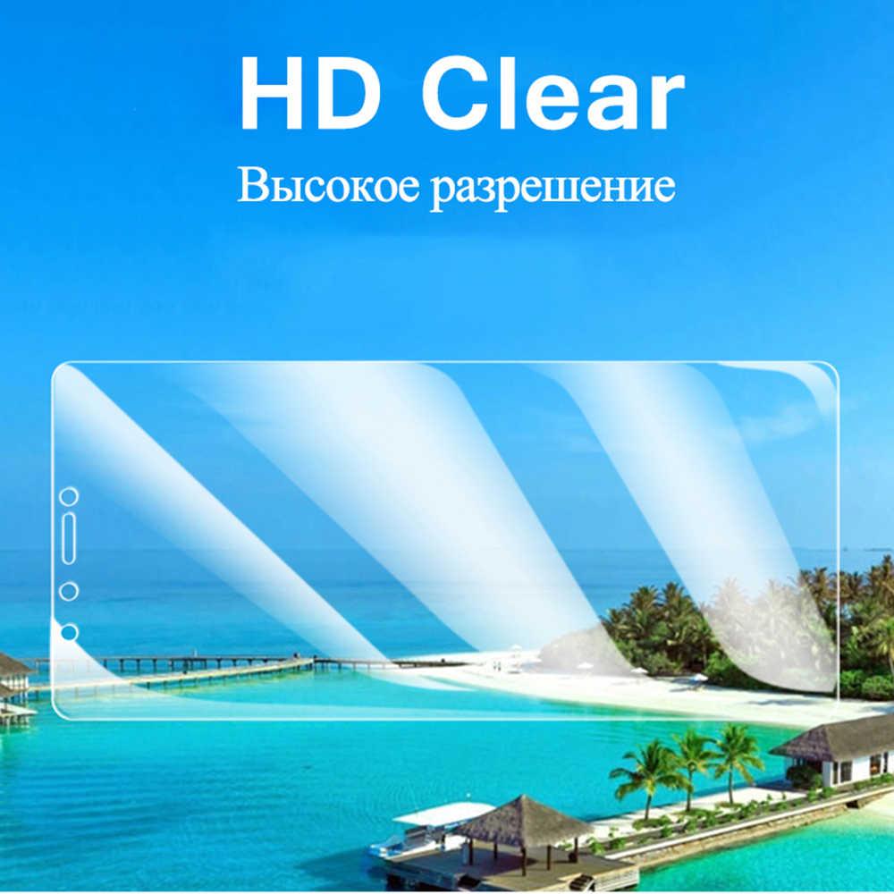 Kaca Pelindung untuk Huawei Y6 Y7 Prime 2018 Pelindung Layar Anti Gores untuk Huawei Y9 Prime Y5 Y6 P Smart Z 2019 Kaca