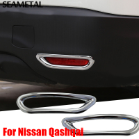 1 Pair Car Styling Rear Fog Light Cover For Nissan Qashqai J11 2nd 2014 2015 2016