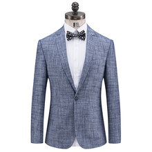 2019 Casual Blazer for men Gentlment Style Single Button Fit Casual Blazer Men Blazers For Mens Mens Jackets And Coats 1806 men houndstooth single button blazer