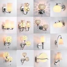 Светодиодный кристалл настенный светильник Настенный светильник s luminaria Домашний Светильник ing гостиная современный K9 E27 настенный светильник абажур для ванной комнаты