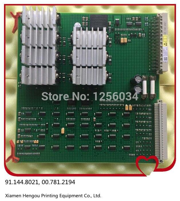 1 piece card LTK50 for heidelberg 91.144.8021/01A 00.781.2194 1 pcs high quality heidelberg parts new board ltk50 91 144 8021 01a water reel drive circuit board ltk 50 91 144 8021