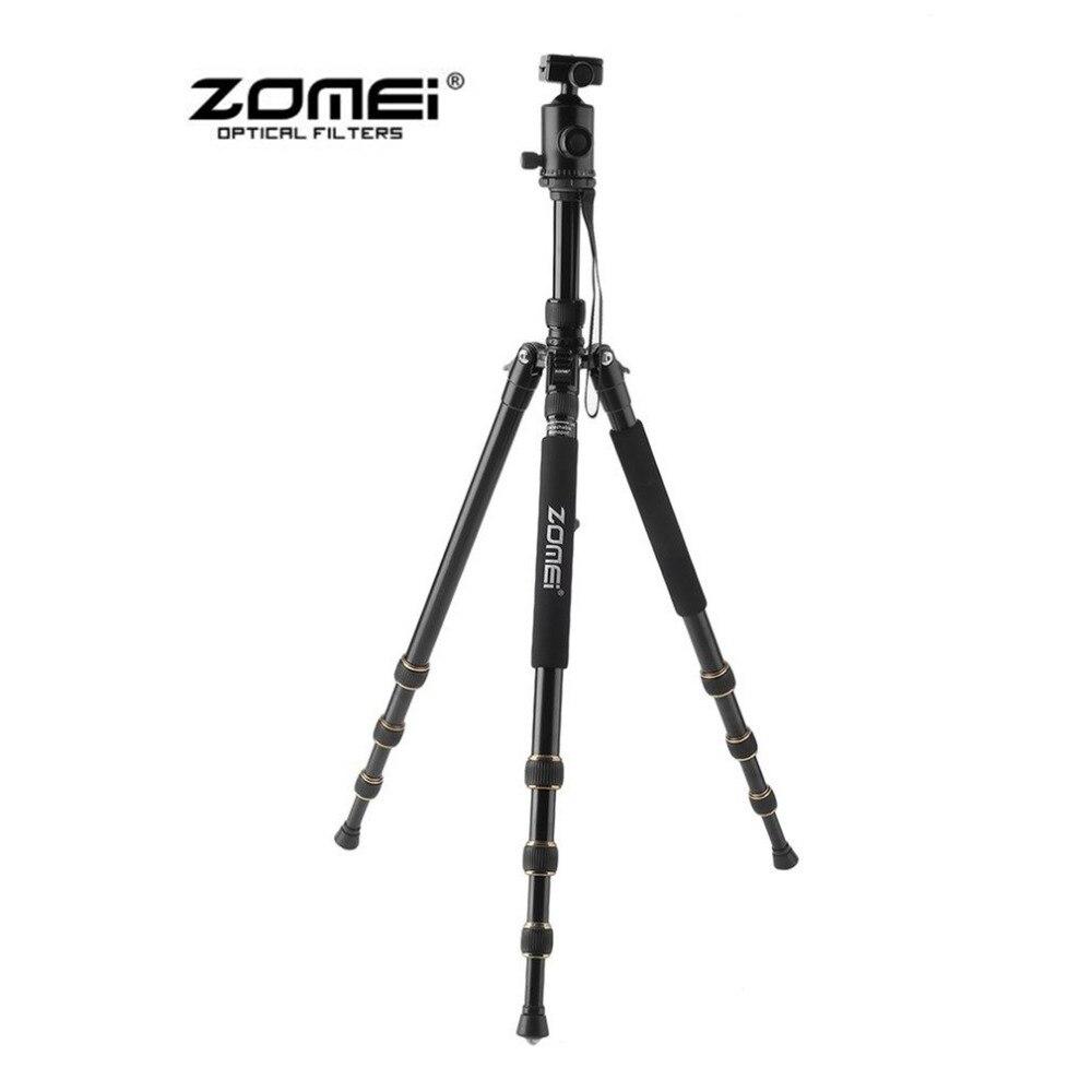 ZOMEI Z688 путешествия Портативный Профессиональный штатив монопод 360 градусов Поворотный шаровой головкой для DSLR Камера SLR Камера