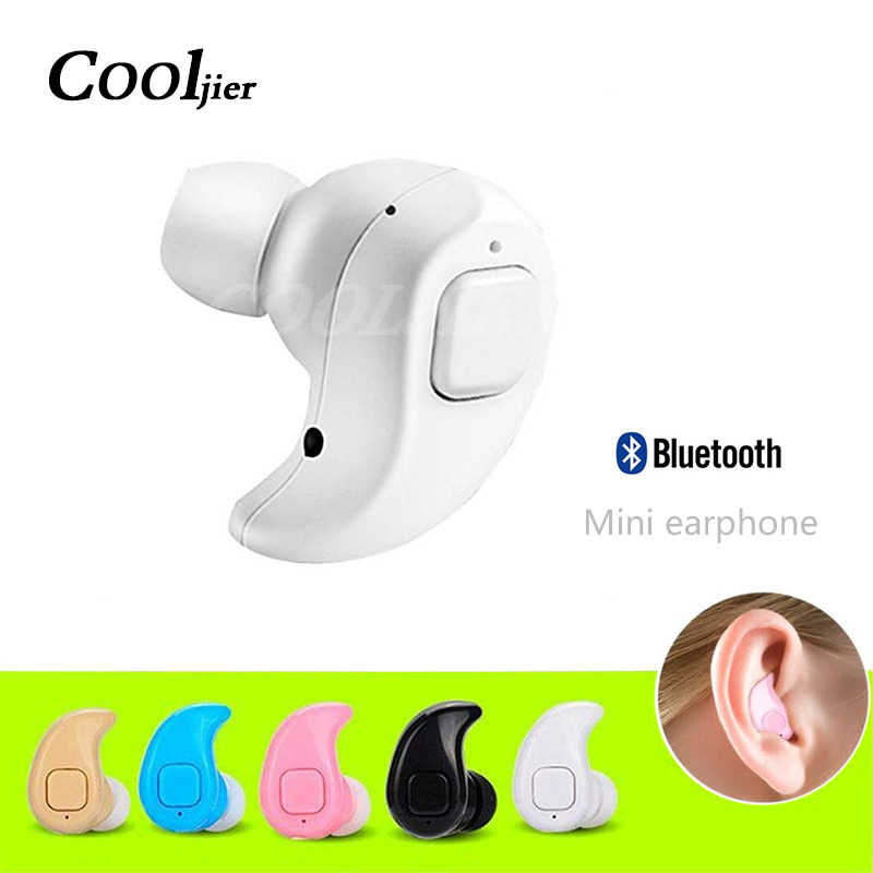 COOLJIER S530X Mini in-ear Wireless Bluetooth Earphone Sport Stereo Headset With Microphone Handsfree Earbuds For iphone xiaomi